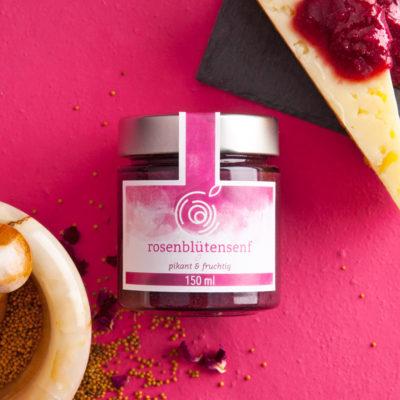 Rosendelikatessen_Produkt_Rosenbluetensenf
